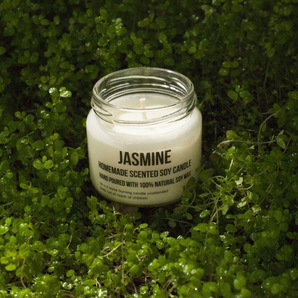 Bougies de Soja - parfum jasmin